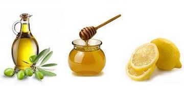 Эликсир с медом, лимоном и оливковым маслом