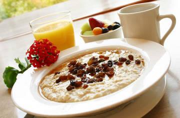 Завтрак поможет сохранить бодрость