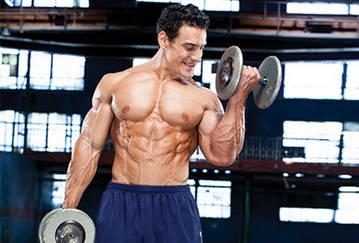 Упражнения с гантелями для мужчин