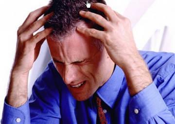 Симптом повышенного внутричерепного давления - головная боль
