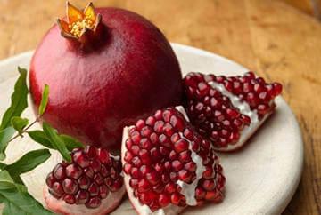 Гранат - отличное средство для повышения гемоглобина