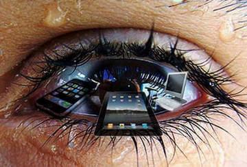 Переутомление снижает остроту зрения