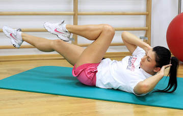 Упражнения для того, чтобы утянуть живот после родов