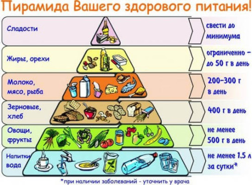 """""""Пирамида"""" правильного питания"""