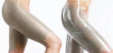 Обертывание с масками способствует повышению эластичности и упругости кожи на ногах