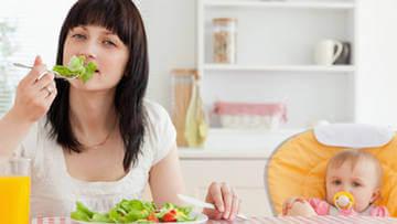 Питание после родов должно быть разнообразным и разумным