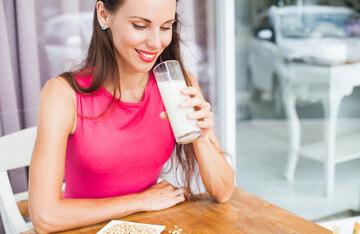 Протеиновый (белковый) коктейль - отличный перекус!