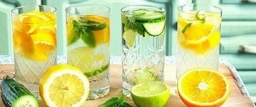 Лимонный напиток для ощелачивания организма