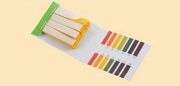 Лакмусовые полоски для определения pH