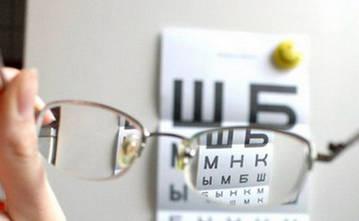 Таблица Бейтся для проверки зрения