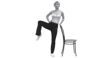 Круговые махи - вращение ногой в тазобедренном суставе
