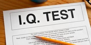 Чтобы узнать свой IQ, надо пройти тест
