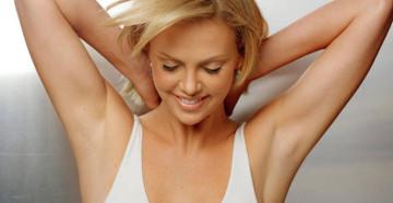 Отбеливание кожи подмышек
