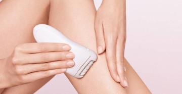 Избавление от волос на теле с помощью эпилятора