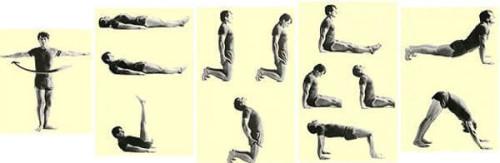 Упражнения тибетской гимнастики