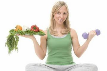 Для похудения важно правильно питаться и иметь посильную физическую нагрузку
