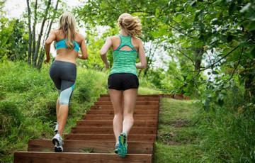 Тренинровка на лестнице
