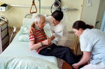 Лечение пожилого человека - область гериатрии