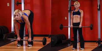 Упражнение - становая тяга