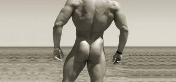 Как накачать мышцы ягодиц мужчине?