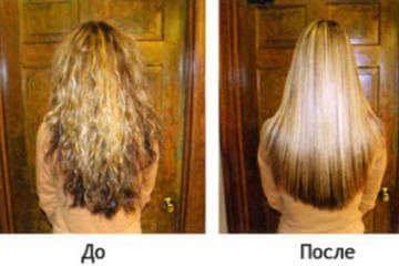 Гладкие и блестящие волосы с помощью ламинирования