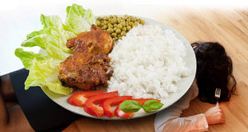 Грамотное снижение количества потребляемых калорий