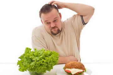 Второй важной составляющей похудения мужчины является правильное, сбалансированное питание