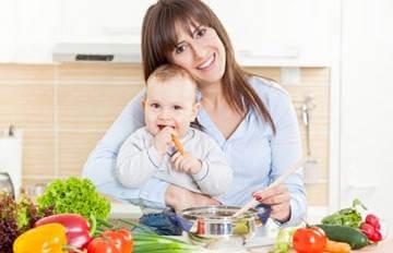 Правильный рацион молодой мамы