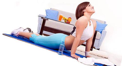 Упражнение для спины для девушек (женщин)
