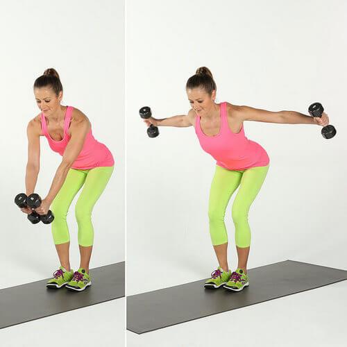 Тренируем спину и плечи