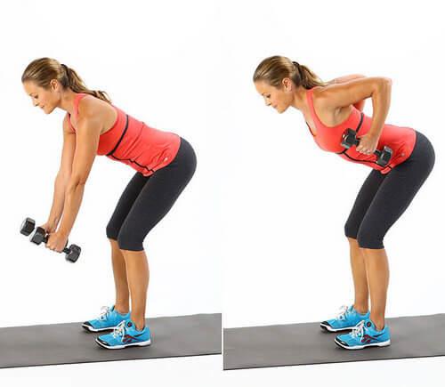 Тренируем спину и трицепсы