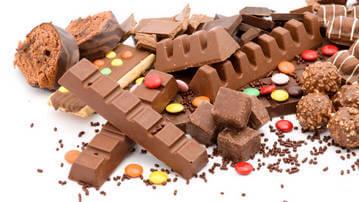 Шоколад и сладости - продукты с высоким гликемическим индексом