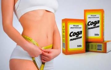 Применение пищевой соды для похудения