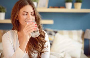 Чистая вода способствует выведению ядов из организма