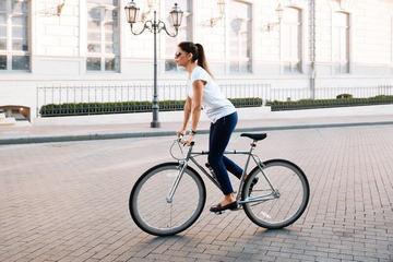 Езда стоя повышает расход калорий